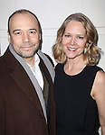 Danny Burstein and Rebecca Luker attends the Broadway Opening Night performance of 'Gigi' at The Neil Simon Theatre on April 8, 2015 in New York City.