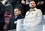 Hearts v St Johnstone…26.01.19…   Tynecastle    SPFL<br />Saints chairman Steve Brown<br />Picture by Graeme Hart. <br />Copyright Perthshire Picture Agency<br />Tel: 01738 623350  Mobile: 07990 594431