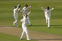 Simon Harmer of Essex appeals for a wicket during Worcestershire CCC vs Essex CCC, LV Insurance County Championship Group 1 Cricket at New Road on 30th April 2021