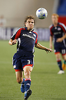 New England Revolution defender Chris Albright (3). The New England Revolution defeated Santos Laguna 1-0 during a Group B match of the 2008 North American SuperLiga at Gillette Stadium in Foxborough, Massachusetts, on July 13, 2008.