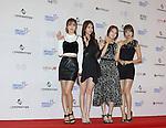 Girl's Day, Jun 07, 2014 : K-pop girl group Girl's Day pose before the Dream Concert in Seoul, South Korea.  (Photo by Lee Jae-Won/AFLO) (SOUTH KOREA)