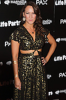 HOLLYWOOD, LOS ANGELES, CA, USA - NOVEMBER 18: Simone Bailly arrives at the Los Angeles Special Screening Of Magnolia Pictures' 'Life Partners' held at Arclight Hollywood on November 18, 2014 in Hollywood, Los Angeles, California, United States. (Photo by Rudy Torres/Celebrity Monitor)
