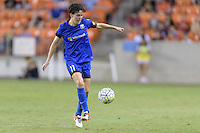 Houston, TX - Sunday Sept. 25, 2016: Keelin Winters during a regular season National Women's Soccer League (NWSL) match between the Houston Dash and the Seattle Reign FC at BBVA Compass Stadium.