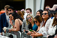 10th November 2020; Christchurch, New Zealand;  Fans during the NZ Trotting Cup at Addington Raceway, Christchurch, New Zealand