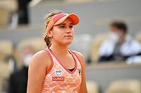 8th October 2020, Roland Garros, Paris, France; French Open tennis, Roland Garros 2020;  Sofia Kenin USA