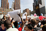 A massive pillow fight in New York City! Pillows fly and teddies soar as we converge on Union Square for a massive urban pillow fight! Swing and whack as you evade pillow-wielding assailants. Bring a non-feather pillow to Union Square and wait for the signal. Pillow fight!
