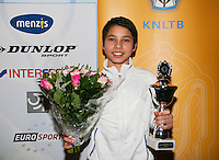 01-12-13,Netherlands, Almere,  National Tennis Center, Tennis, Winter Youth Circuit, Boys 16 years ,second place :  Sidané Pontjodikromo<br /> Photo: Henk Koster