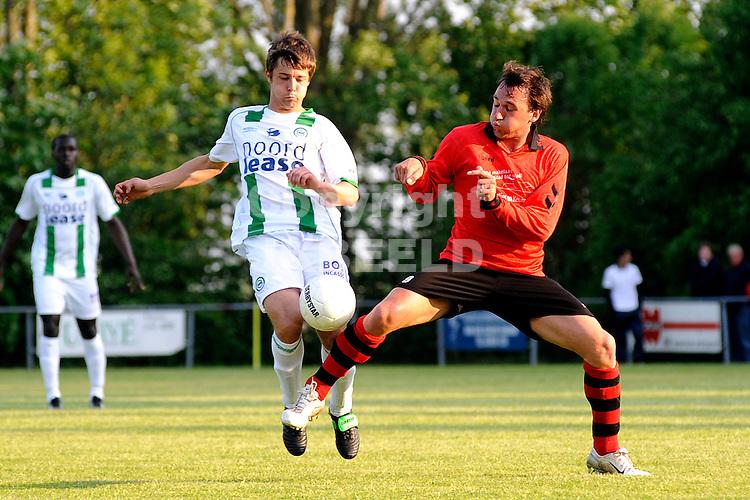 voetbal vv eenrum - fc groningen vriendschappelijk seizoen 2007-2008 15-05-2008 sepp de roover..fotograaf Jan Kanning