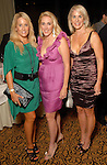 Jill Faucetta, Christy Sullivan and Bethany Hughes at the March of Dimes Signature Chefs event at The Omni Hotel Wednesday Oct. 07,2009. (Dave Rossman/For the Chronicle)