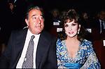 GINA LOLLOBRIGIDA CON BIAGIO AGNES - TEATRO DELL'OPERA ROMA 1990