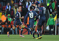 The United States came from a 2-0 halftime deficit to Slovenia to earn a 2-2 draw their second match of play in Group C of the 2010 FIFA World Cup.