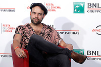 "Il regista Paul Dugdale posa durante un photocall per la presentazione del film ""The Rolling Stones Ole' Ole' Ole': A Trip Across Latin America"" al Festival Internazionale del Film di Roma, 16 ottobre 2016.<br /> Director Paul Dugdale poses for a photocall to present the movie ""The Rolling Stones Ole' Ole' Ole': A Trip Across Latin America"" during the international Rome Film Festival at Rome's Auditorium, 16 October 2016.<br /> UPDATE IMAGES PRESS/Isabella Bonotto"