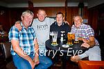 Enjoying the evening in O'Regan's Bar in Ballyheigue on Sunday, l to r: Tom Dunne, Joe Flaherty, Pa Casey and Aidan Foley.
