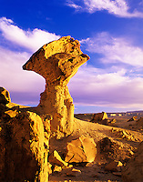 Balancing rock at sunset. Glenn Canyon National Recreation Area, Utah