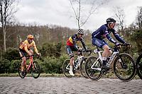 eventual winner Jasper Philipsen (BEL/Alpecin-Fenix) getting some energy in during the local laps around Schoten<br /> <br /> 109th Scheldeprijs 2021 (ME/1.Pro)<br /> 1 day race from Terneuzen (NED) to Schoten (BEL): 194km<br /> <br /> ©kramon