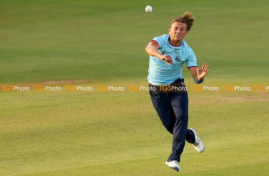 Aaron Beard of Essex on fielding duty during Essex Eagles vs Cambridgeshire CCC, Domestic One-Day Cricket Match at The Cloudfm County Ground on 20th July 2021