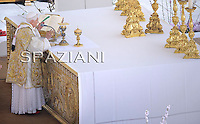 Pope Benedict XVI  to celebrate Easter Mass at the Vatican, 24 April 2011.