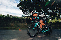 6th October 2021 Womens Cycling Tour, Stage 3. Individual Time Trial; Atherstone to Atherstone. Megan Jastrab.