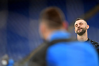 Marcelo Brozovic of FC Internazionale reacts during the warm up prior to the Serie A football match between AS Roma and FC Internazionale at Olimpico stadium in Roma (Italy), January 10th, 2021. Photo Andrea Staccioli / Insidefoto