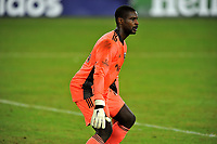 WASHINGTON, DC - SEPTEMBER 27: Bill Hamid #24 of D.C. United during a game between New England Revolution and D.C. United at Audi Field on September 27, 2020 in Washington, DC.