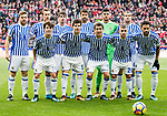 Real Sociedad squad poses for photos prior to the La Liga 2017-18 match between Atletico de Madrid and Real Sociedad at Wanda Metropolitano on December 02 2017 in Madrid, Spain. Photo by Diego Gonzalez / Power Sport Images