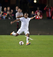 CARSON, CA – JANUARY 22: USA forward Juan Agudelo (17) during the international friendly match between USA and Chile at the Home Depot Center, January 22, 2011 in Carson, California. Final score USA 1, Chile 1.