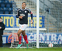 Falkirk's Lyle Taylor celebrates after he scores their first goal.