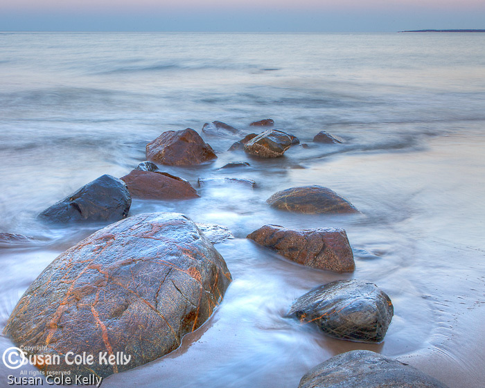 Blue dusk at the Parker River NWR, Newburyport, Massachusetts, USA
