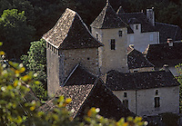 Europe/France/Midi-Pyrénées/46/Lot/Quercy/Saint-Martin-de-Vers : Le village