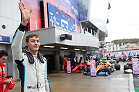 25th September 2021; Sochi, Russia; F1 Grand Prix of Russia  qualifying sessions;  F1 Grand Prix of Russia 63 George Russell GBR, Williams Racing takes 3rd on pole