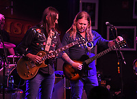 BOCA RATON - NOVEMBER 18: Duane Betts and Devon Allman of The Allman Betts Band perform at The Funky Biscuit on November 18, 2020 in Boca Raton, Florida. Credit: mpi04/MediaPunch