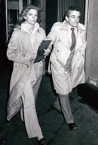 Candace Bergen & Louis Malle 1983<br /> Photo By John Barrett-PHOTOlink.net / MediaPunch