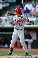 April 11, 2010:  Bill Rhinehart of the Harrisburg Senators during a game at Blair County Ballpark in Altoona, PA.  Harrisburg is the Double-A Eastern League affiliate of the Washington Nationals.  Photo By Mike Janes/Four Seam Images