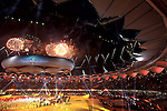 DELHI, INDIA - OCTOBER 14: Fireworks at the grand finale of the  Closing Ceremony for the Delhi 2010 Commonwealth Games at Jawaharlal Nehru Stadium on October 14, 2010 in Delhi, India.  (Photo by Graham Crouch/Getty Images)