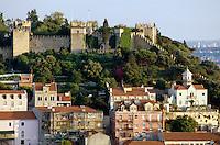 Portugal, Blick von Senhora do Monte in Lissabon