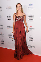 Kimberley Garner<br /> at the Scottish Fashion Awards 2016, Rosewood Hotel, London.<br /> <br /> <br /> ©Ash Knotek  D3186  21/10/2016