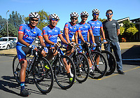 Team Sapura Cycling (Malaysia) before stage three of the NZ Cycle Classic UCI Oceania Tour in Wairarapa, New Zealand on Tuesday, 24 January 2017. Photo: Dave Lintott / lintottphoto.co.nz