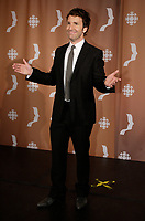 Montreal (Qc) CANADA - Sept 14, 2008 - <br /> <br /> Eric Salvail,<br /> <br /> 2008 Gemeaux Gala rewarding French-Canadian television.