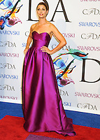 NEW YORK CITY, NY, USA - JUNE 02: Bridget Moynahan arrives at the 2014 CFDA Fashion Awards held at Alice Tully Hall, Lincoln Center on June 2, 2014 in New York City, New York, United States. (Photo by Celebrity Monitor)