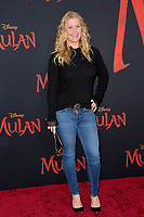 """LOS ANGELES, CA: 09, 2020: Alison Sweeney at the world premiere of Disney's """"Mulan"""" at the El Capitan Theatre.<br /> Picture: Paul Smith/Featureflash"""