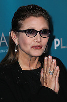 """WESTWOOD, LOS ANGELES, CA, USA - MARCH 22: Carrie Fisher at the Geffen Playhouse's Annual """"Backstage At The Geffen"""" Gala held at Geffen Playhouse on March 22, 2014 in Westwood, Los Angeles, California, United States. (Photo by Xavier Collin/Celebrity Monitor)"""