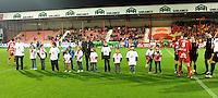 KV Kortrijk - KV Mechelen..project Open Stadion  : winnaars tekenwedstrijd..foto VDB / BART VANDENBROUCKE