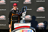 NASCAR XFINITY Series<br /> TheHouse.com 300<br /> Chicagoland Speedway, Joliet, IL USA<br /> Saturday 16 September 2017<br /> Matt Tifft, TMNT Lone Rat & Cub/ABTA Toyota Camry, Xfinity trophy <br /> World Copyright: Logan Whitton<br /> LAT Images