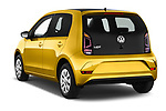 Car pictures of rear three quarter view of 2017 Volkswagen UP Move-up 5 Door Hatchback Angular Rear