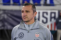 JACKSONVILLE, FL - NOVEMBER 10: Vlatko Andonovski head coach of the USWNT during a game between Costa Rica and USWNT at TIAA Bank Field on November 10, 2019 in Jacksonville, Florida.