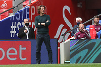 Brentford FC Manager, Thomas Frank during Brentford vs Swansea City, Sky Bet EFL Championship Play-Off Final Football at Wembley Stadium on 29th May 2021