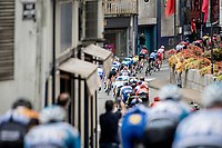 rolling through town<br /> <br /> Stage 9 from Pau to Laruns (153km)<br /> <br /> 107th Tour de France 2020 (2.UWT)<br /> (the 'postponed edition' held in september)<br /> <br /> ©kramon