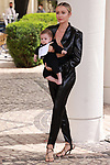 Cannes Film Festival 2021 . 74th edition of the 'Festival International du Film de Cannes' under Covid-19 outbreak on 12/07/2021 in Cannes, France.Celebrity Sightings<br />  Natalia Zakharova and her baby.<br /> © Pierre Teyssot / Maxppp