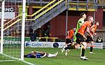 13.12.2020 Dundee Utd v Rangers: Alfredo Morelos despondant after missing