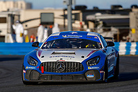 #4: Winward Racing Mercedes-AMG GT GT4, GS: Russell Ward, Indy Dontje